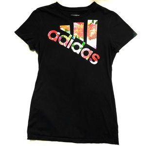 Adidas Flower covered Top